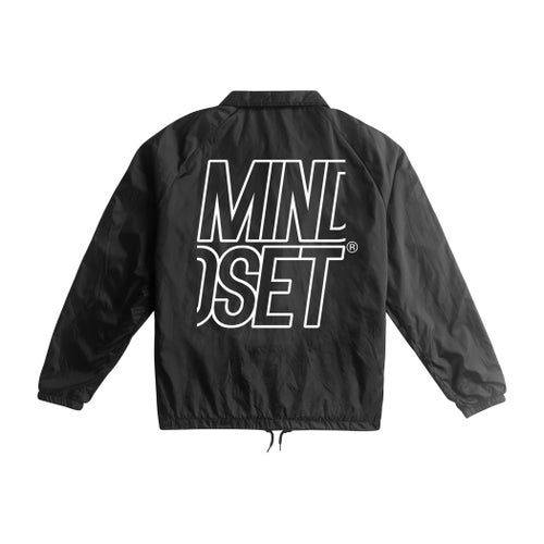 Image of Stacked Logo Coaches Jacket