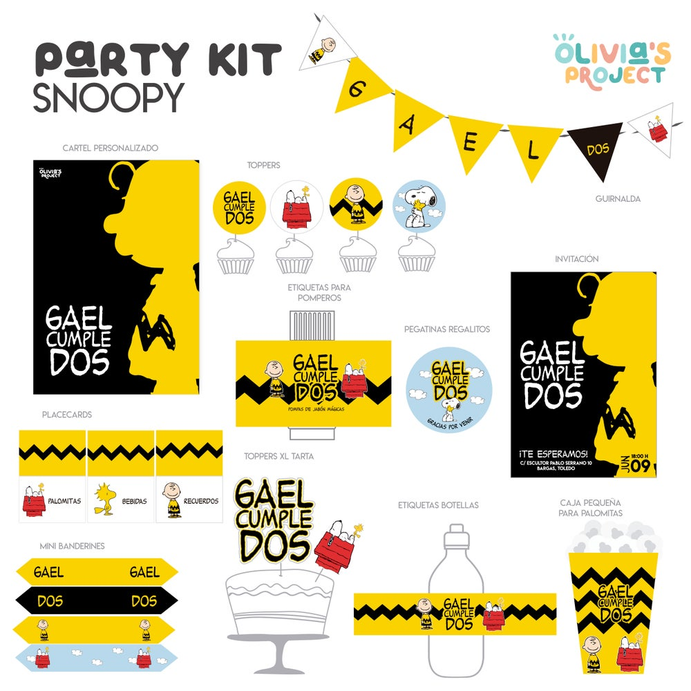 Image of Party Kit Snoopy