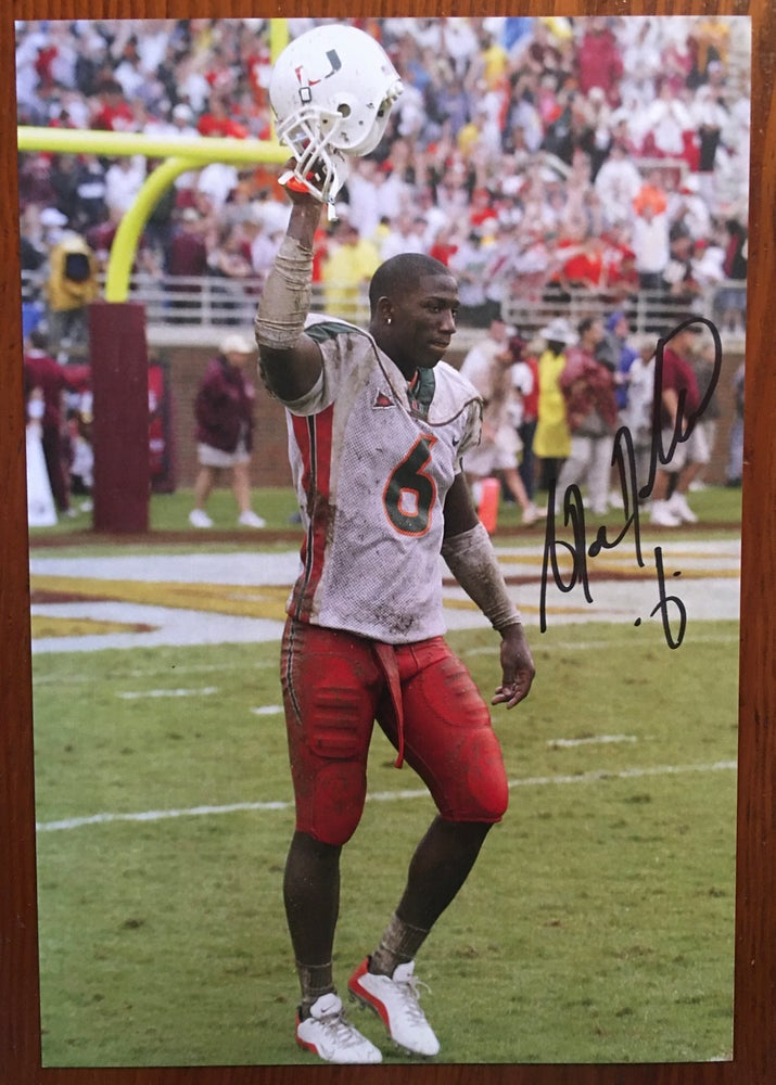 Image of Antrel Rolle Signed Photo