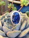 Venetian Glass & Silver Cuff