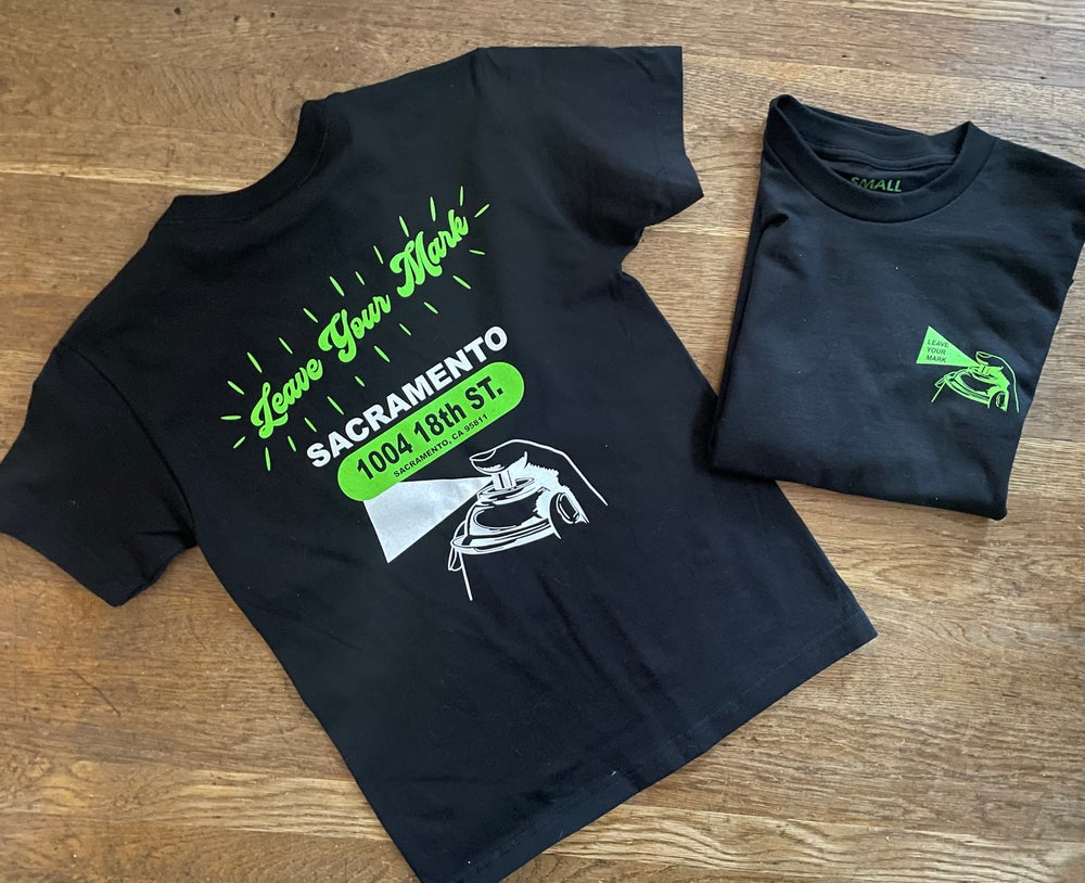 """Leave Your Mark """"Glowing"""" Tee Shirt"""