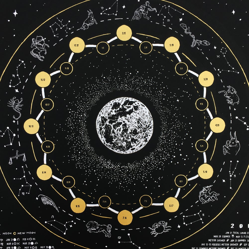 Image of 2019 lunar calendar / 2019 misprints