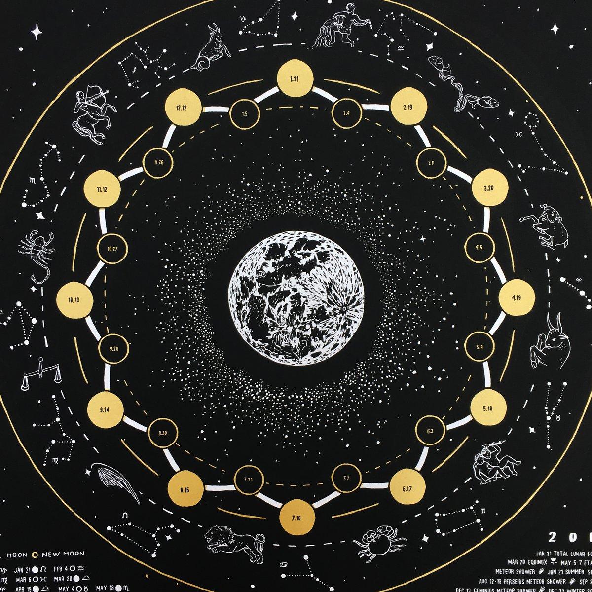 Image of 2019 lunar calendar / 2019 misprints