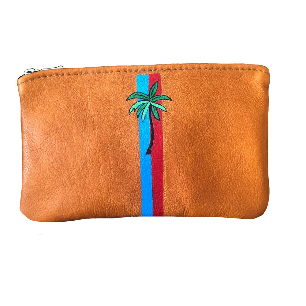 Palm Leather Pouch