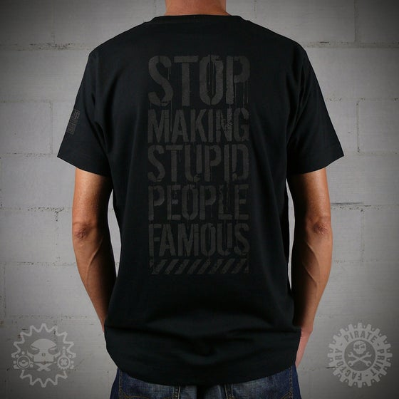 Image of T-SHIRT STUPID FAMOUS
