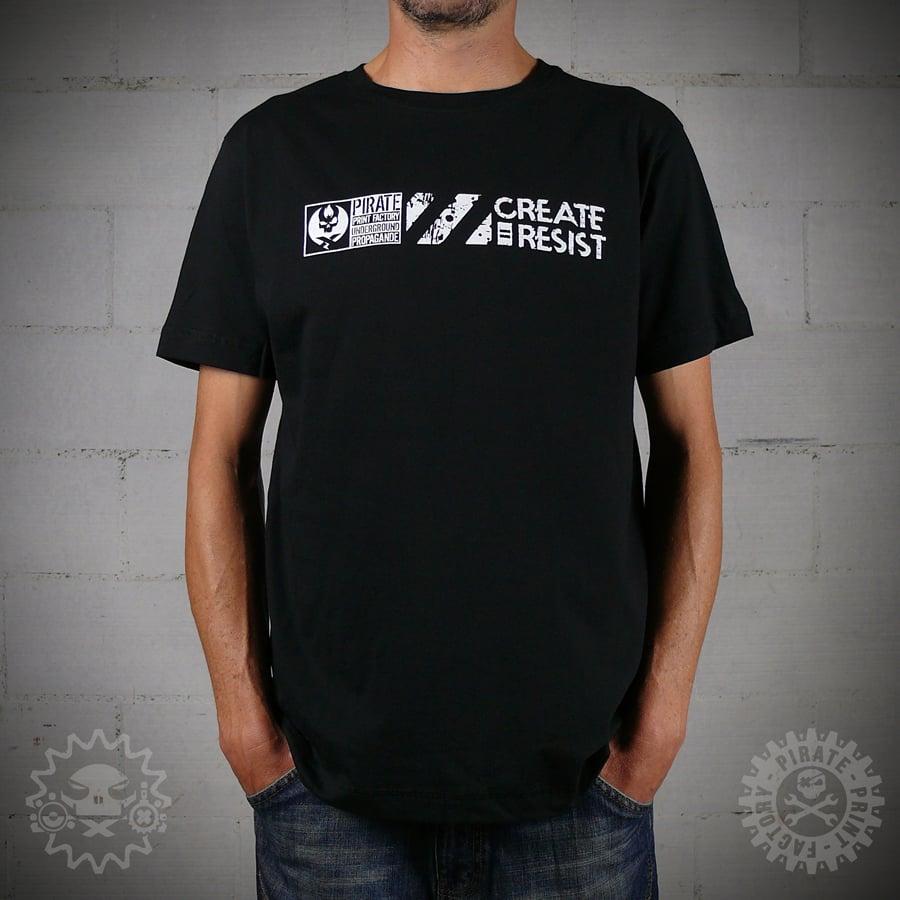 Image of T-SHIRT CREATE = RESIST