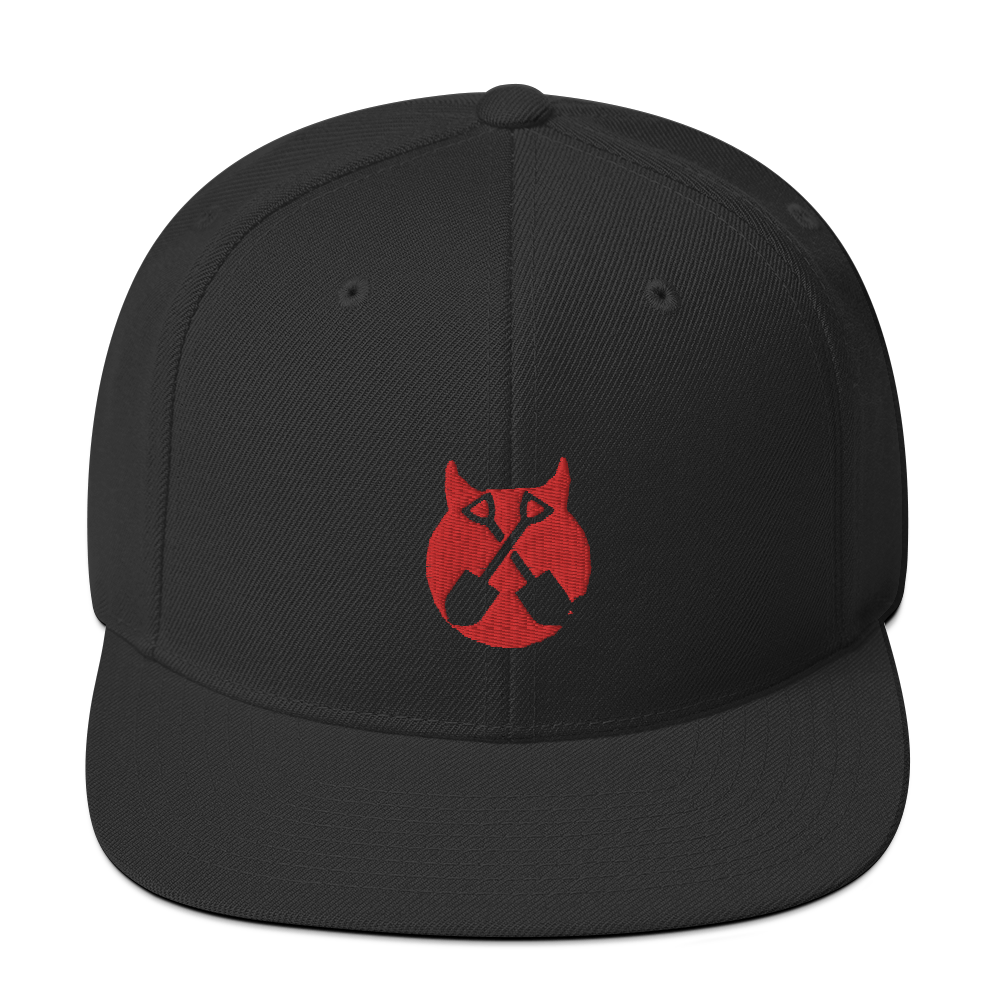 "Image of WEDNESDAY 13 ""I LOVE TO SAY F*CK"" SNAPBACK CAP"