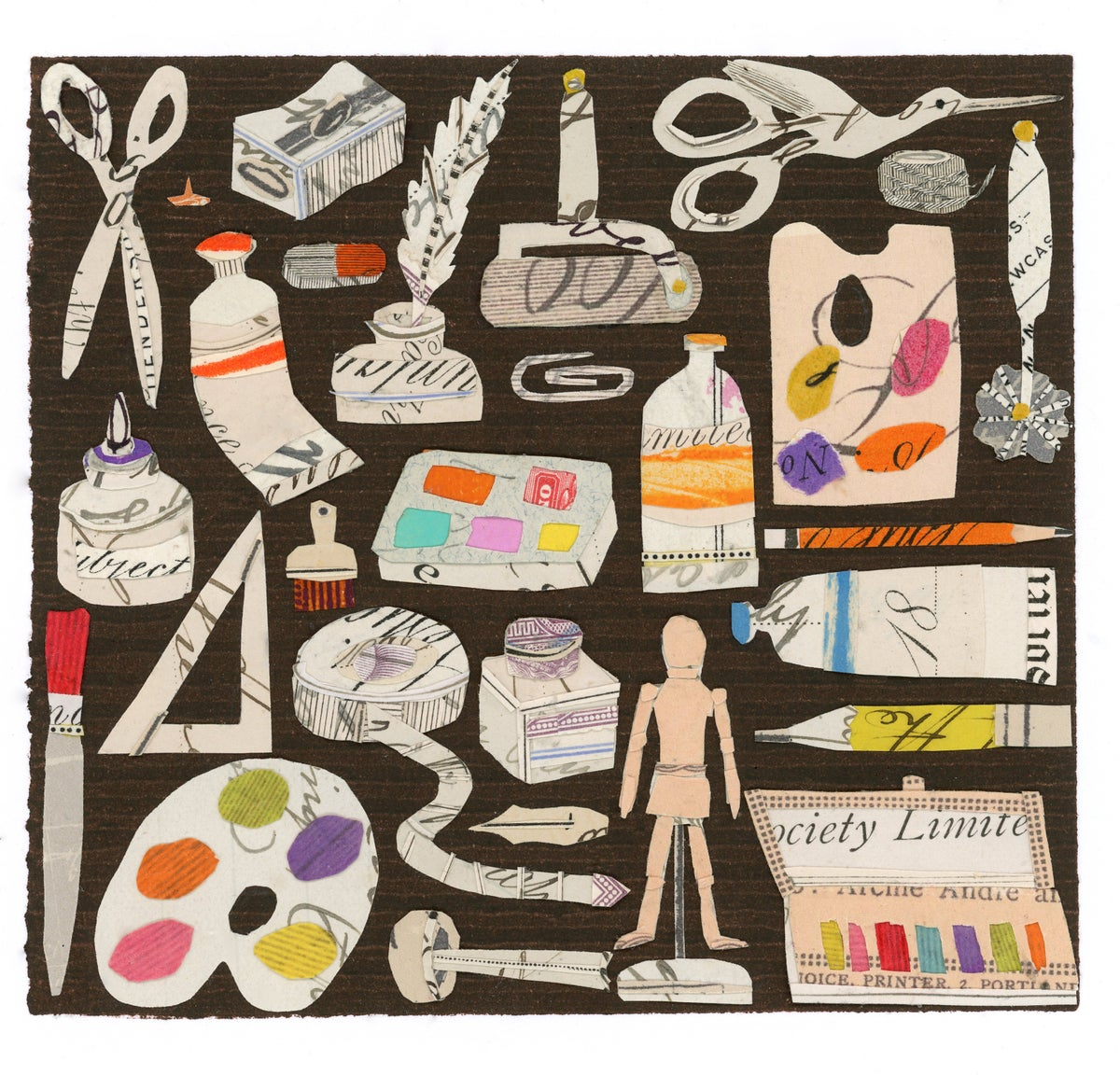Image of Tools Of The Trade... Giclee print