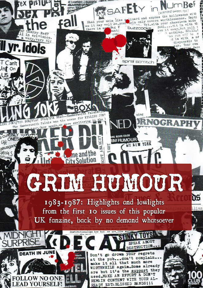 Image of  Grim Humour: Highlights and Lowlights 1983 - 1987 book