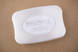 Brilliance Moonlight White Stamp Pad