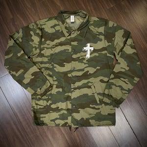 Image of Camo Coaches Jacket