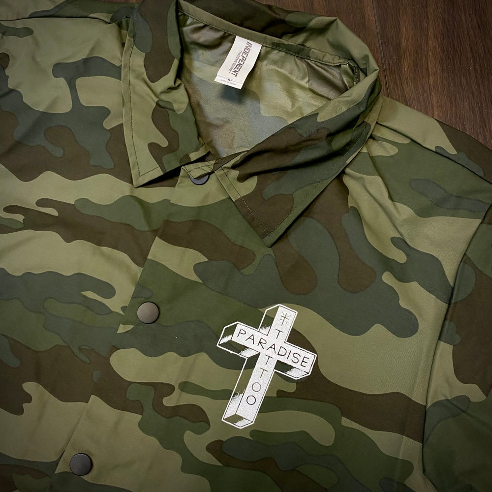 Image of Camo Coaches Jacket