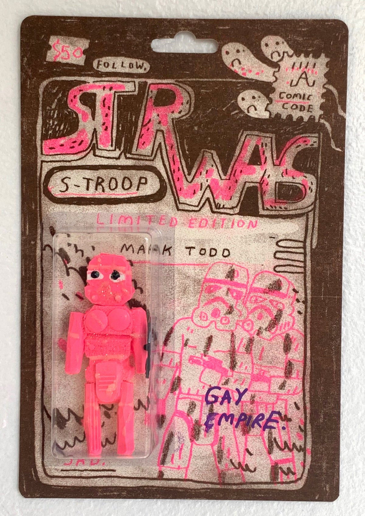 (Mark Todd) S-TROOP pink sucklord