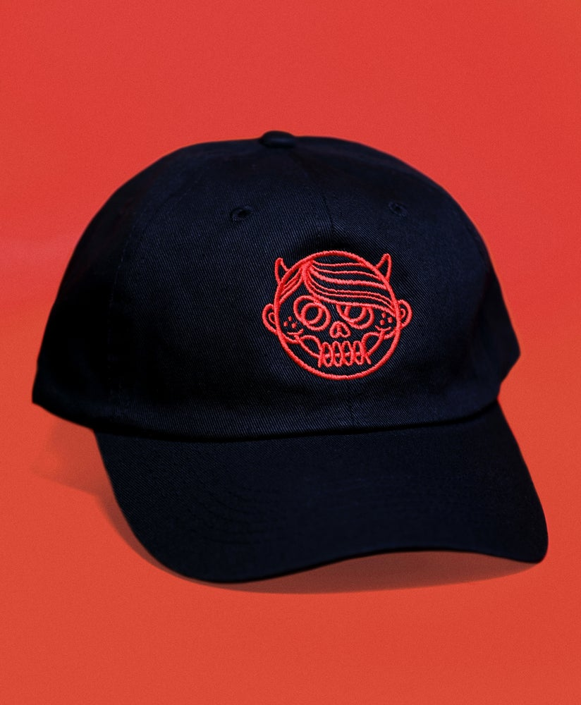 "Image of ""DEVILBOY"" Stitched Logo Hat"