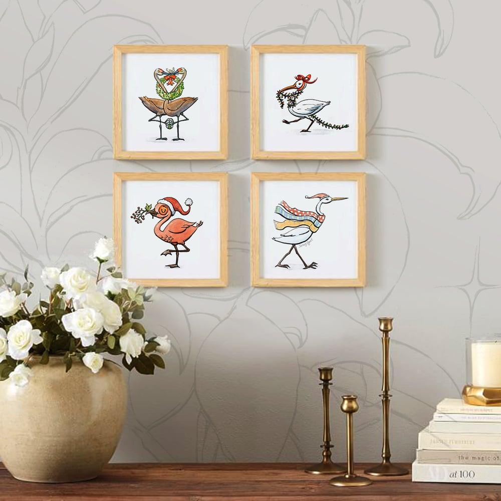 Image of Snow Birds! 4-Print Set
