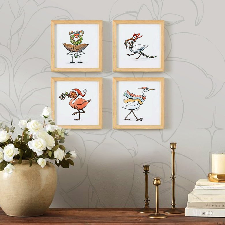 Image of Snow Birds! 4-Print Set