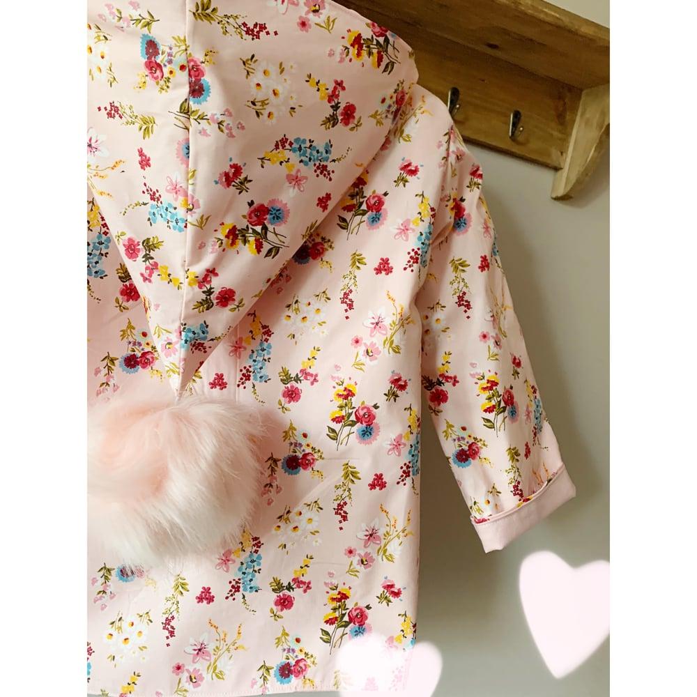 Image of Pink AO waterproof coat