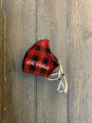 Image of Buffalo Plaid Face Mask