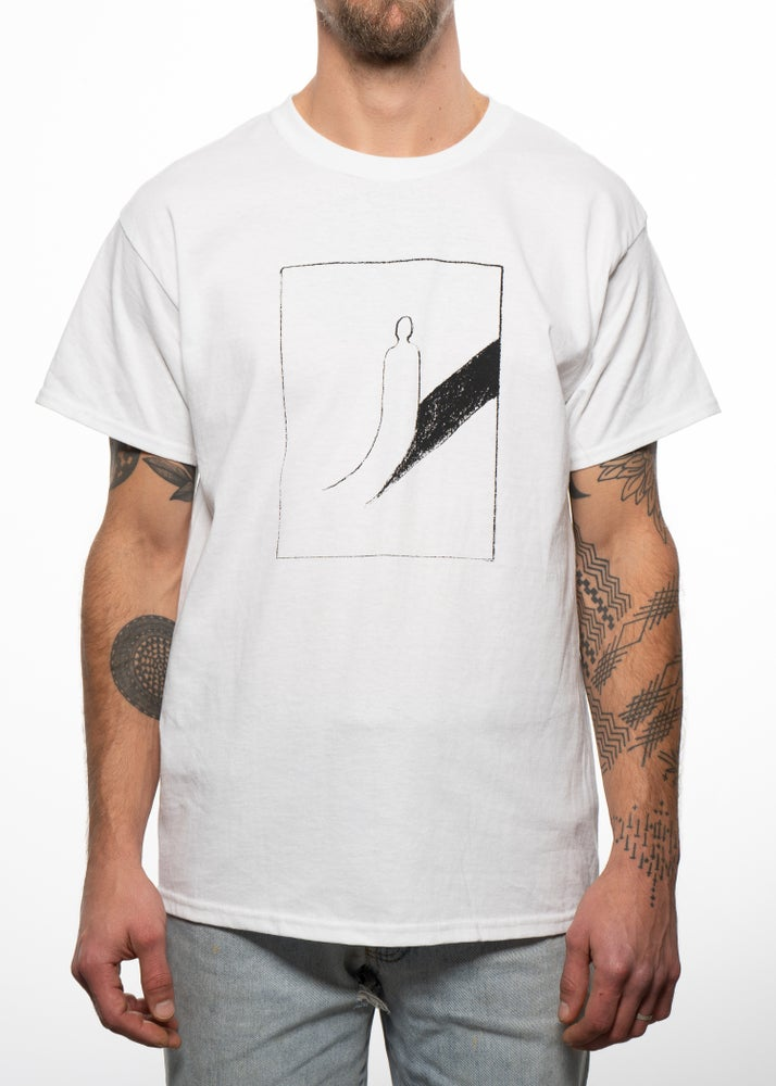 Image of Peeled Back T-Shirt - White