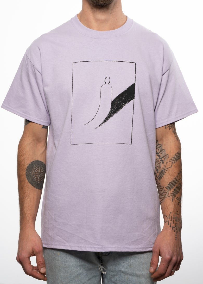 Image of Peeled Back T-Shirt - Orchid