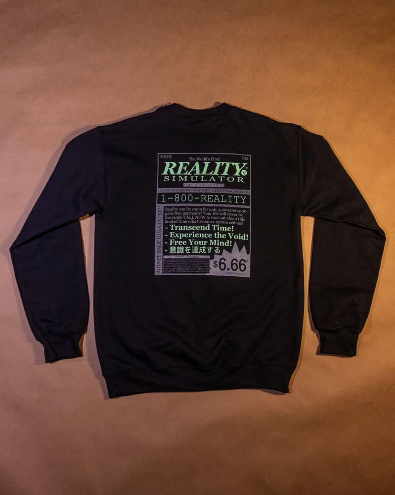 Image of REALITY SIMULATOR® Crew Neck (Gildan)