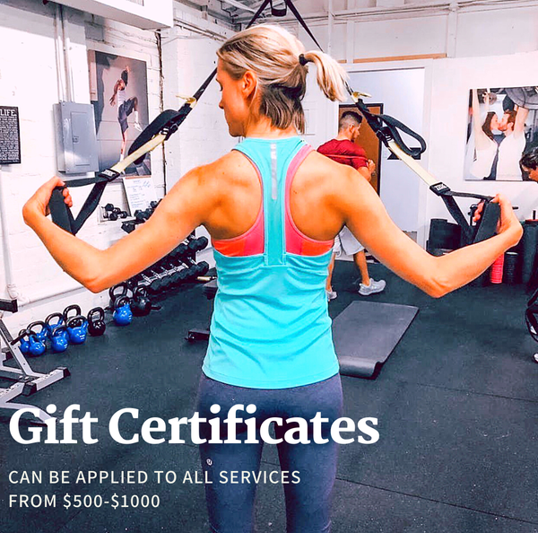 Image of Gift Certificates $500 and up