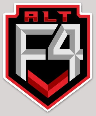 Image of Alt F4 Die-Cut Sticker
