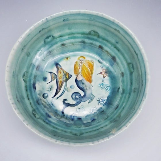 Image of Mermaid Keepsake Porcelain Dish