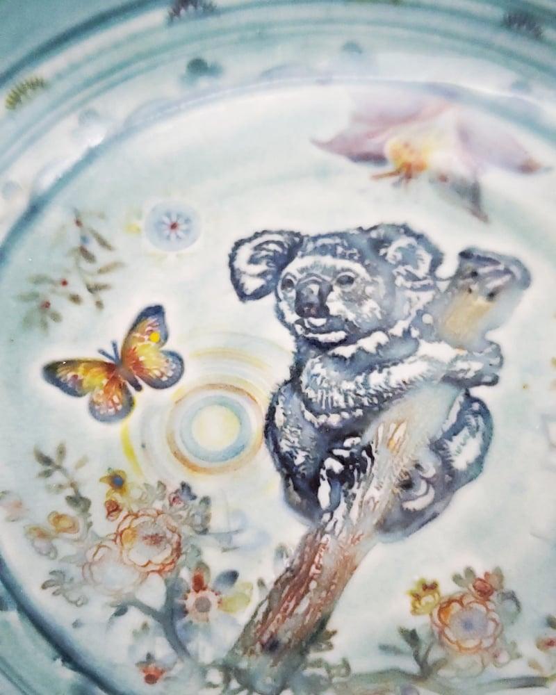 Image of Koala Paradise Porcelain Bowl