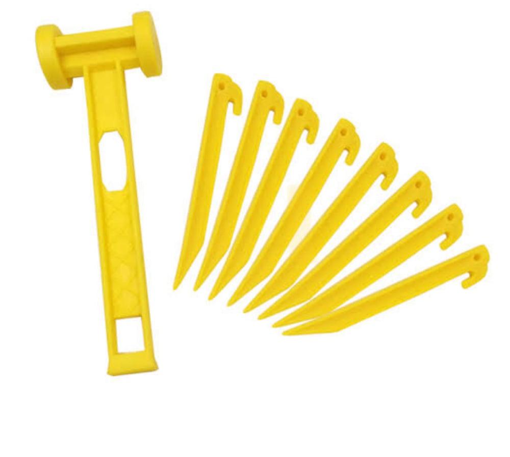 Image of Sand peg & hammer set