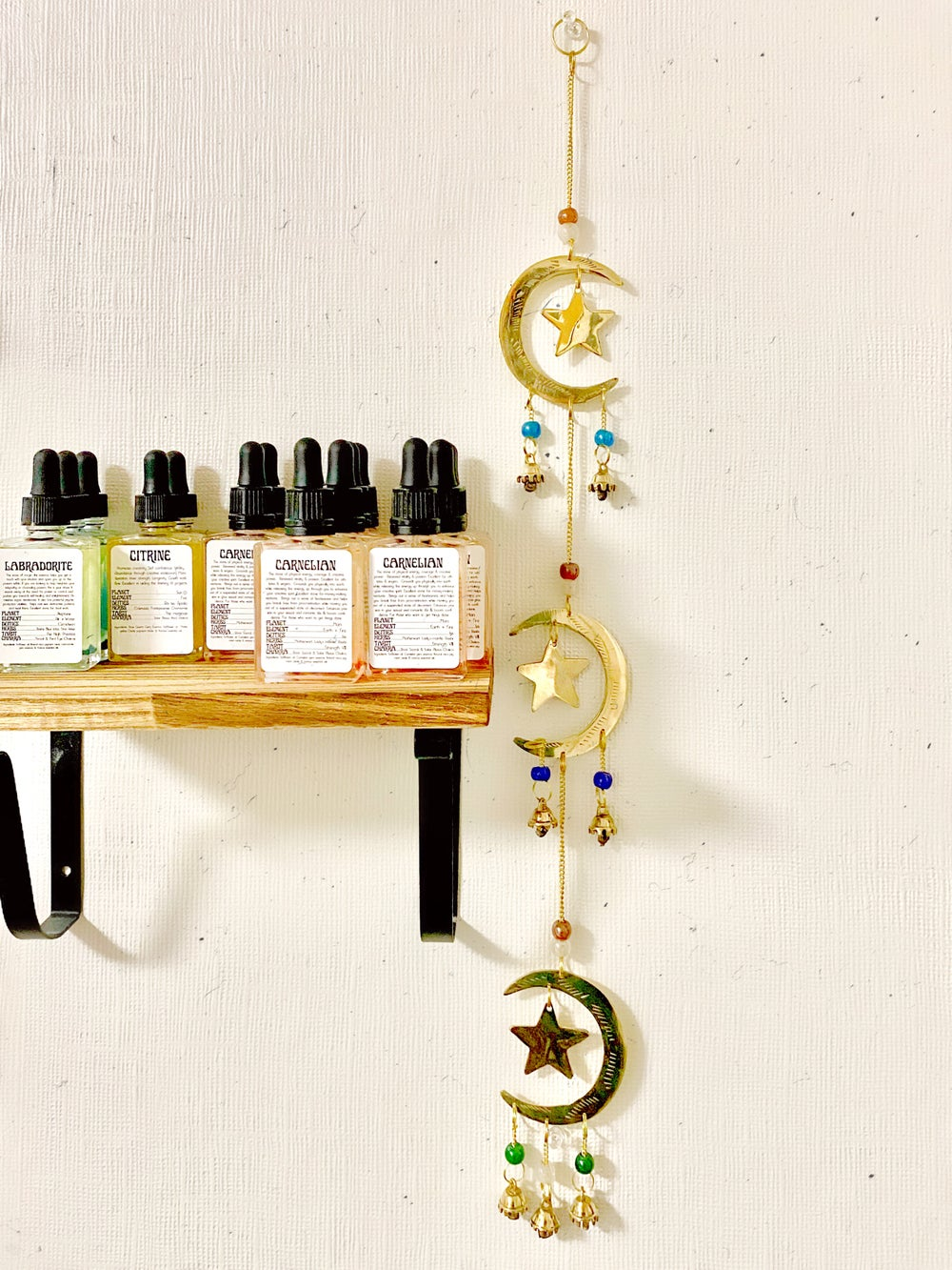 Image of Star & Moon Whimsical Wind Chime | NEW!