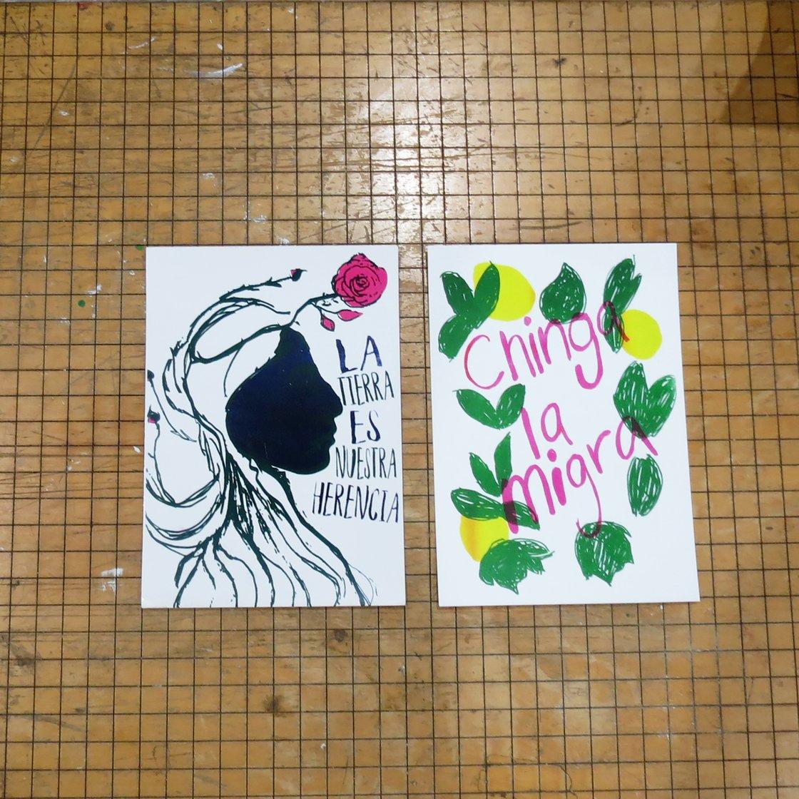 Image of Postcards - 2 x $3