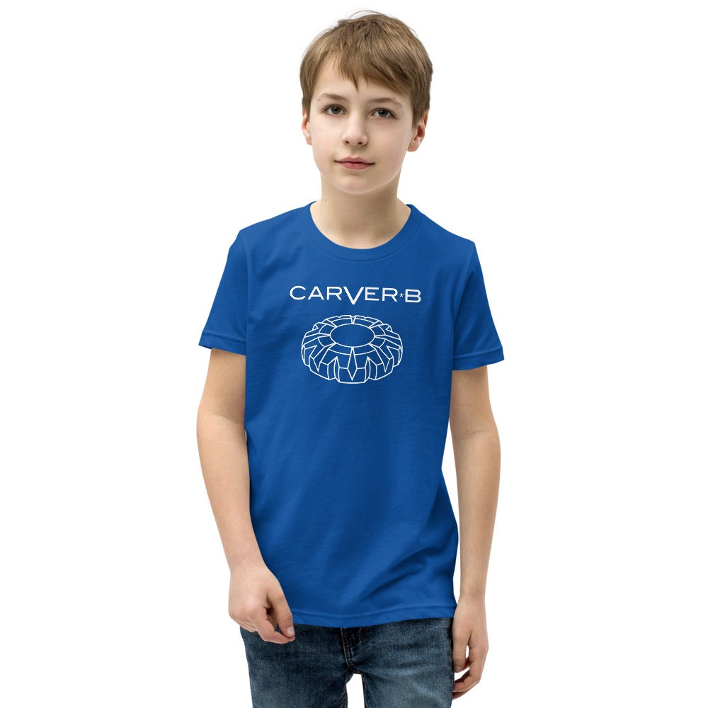 Image of Youth Unisex  S/M/L Carver B T-Shirt