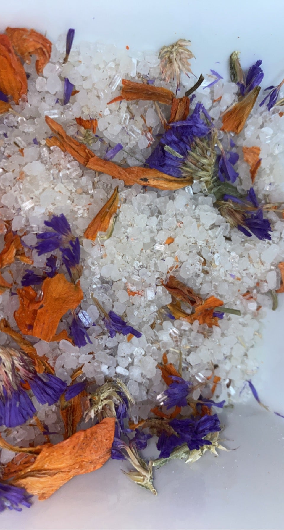Image of Lily + Forget Me Not (bath soak)