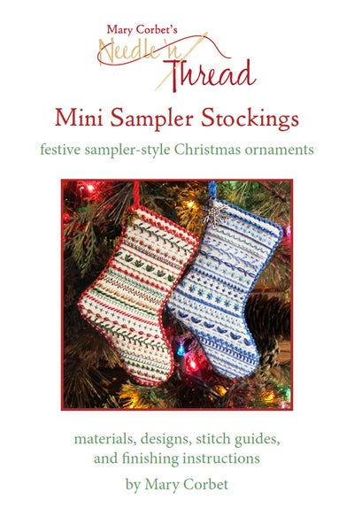 Image of Mini Sampler Stockings: E-Book Only