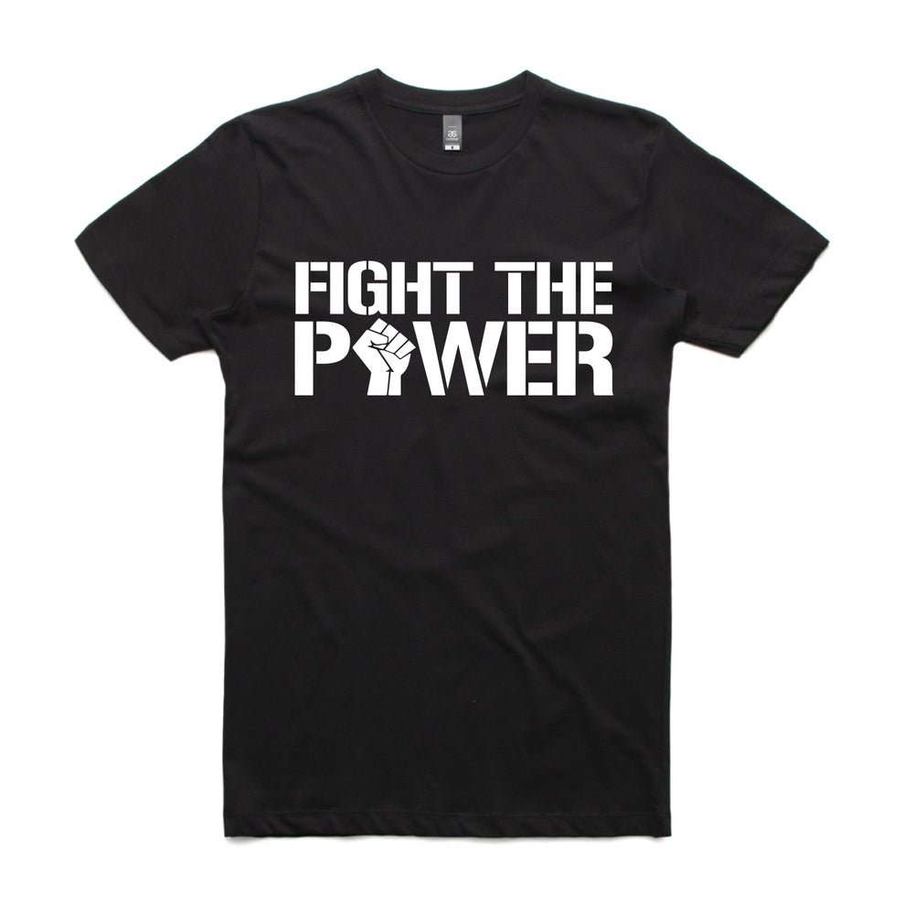 Image of Fight the Power White