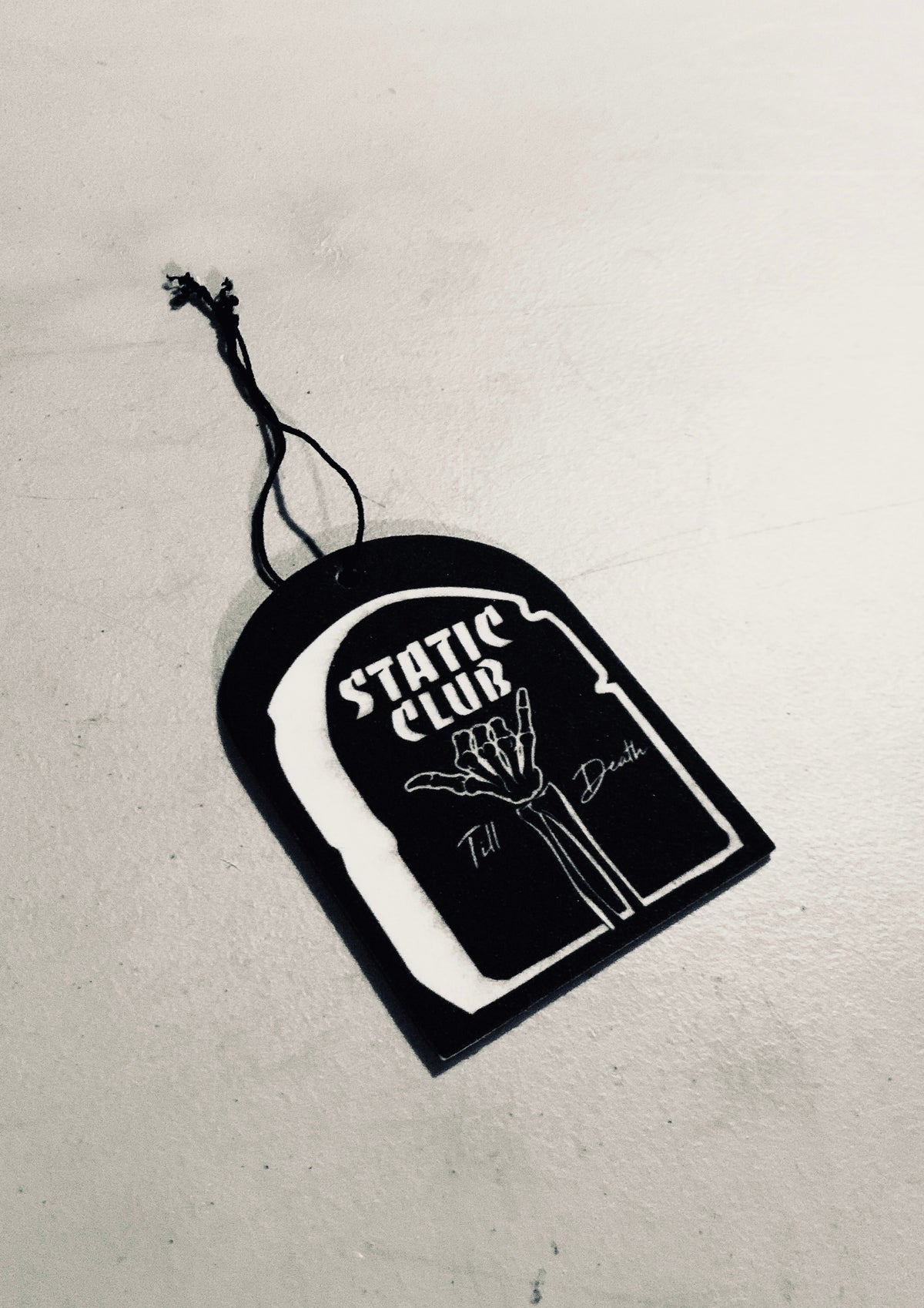 Static Till Death Air Freshener