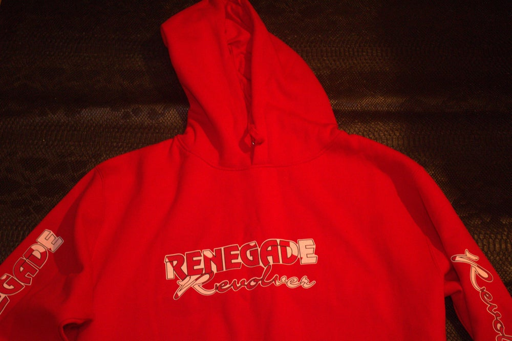 Red Renegade Revolver hoody