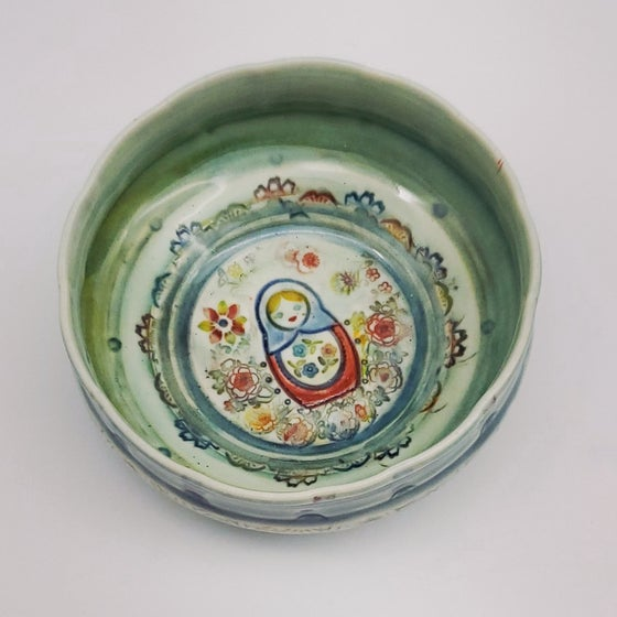 Image of Matroska Doll Porcelain Dish