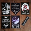 Out of Darkness pennant and mini print set