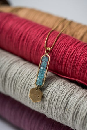 Image of Poolwater Blue Apatite Joy Necklace