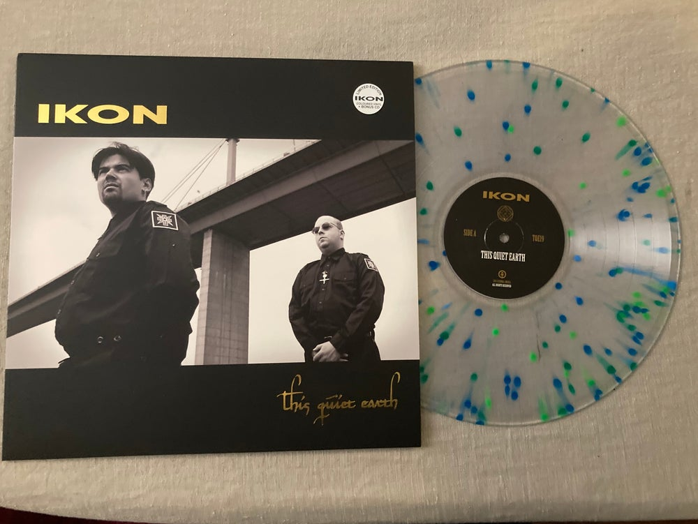 Image of This Quiet Earth splattered vinyl lps ultra rare