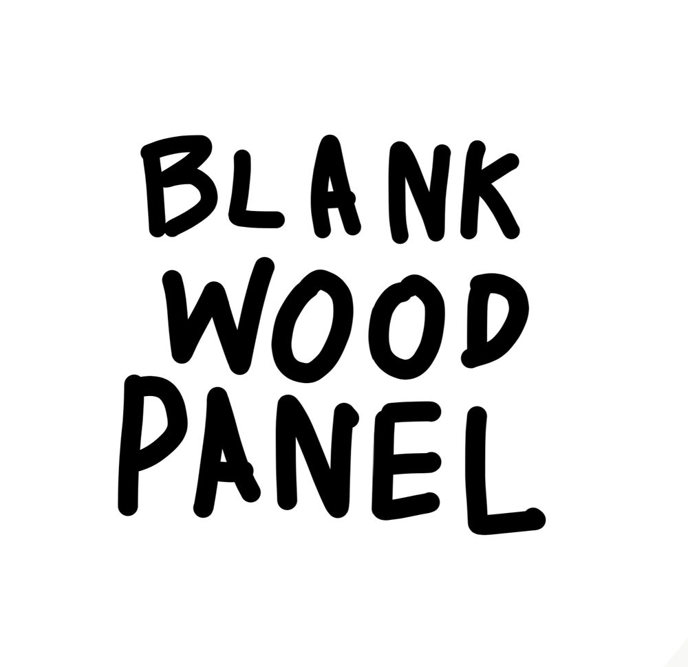 Image of Blank wood panel