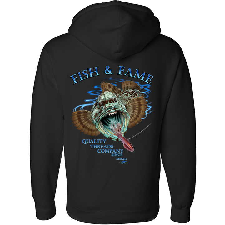 Image of Lingcod Pullover (black)