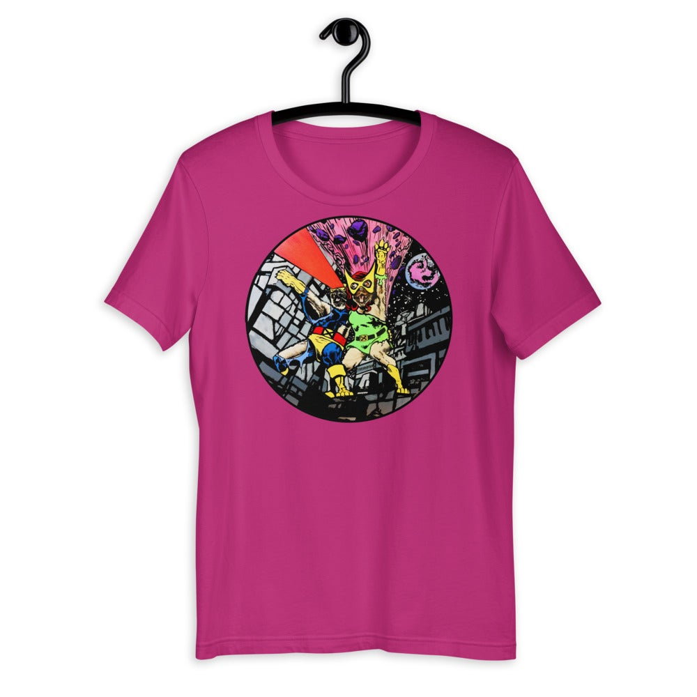 """X-Pugs Cover #137"" Short-Sleeve Unisex T-Shirt"