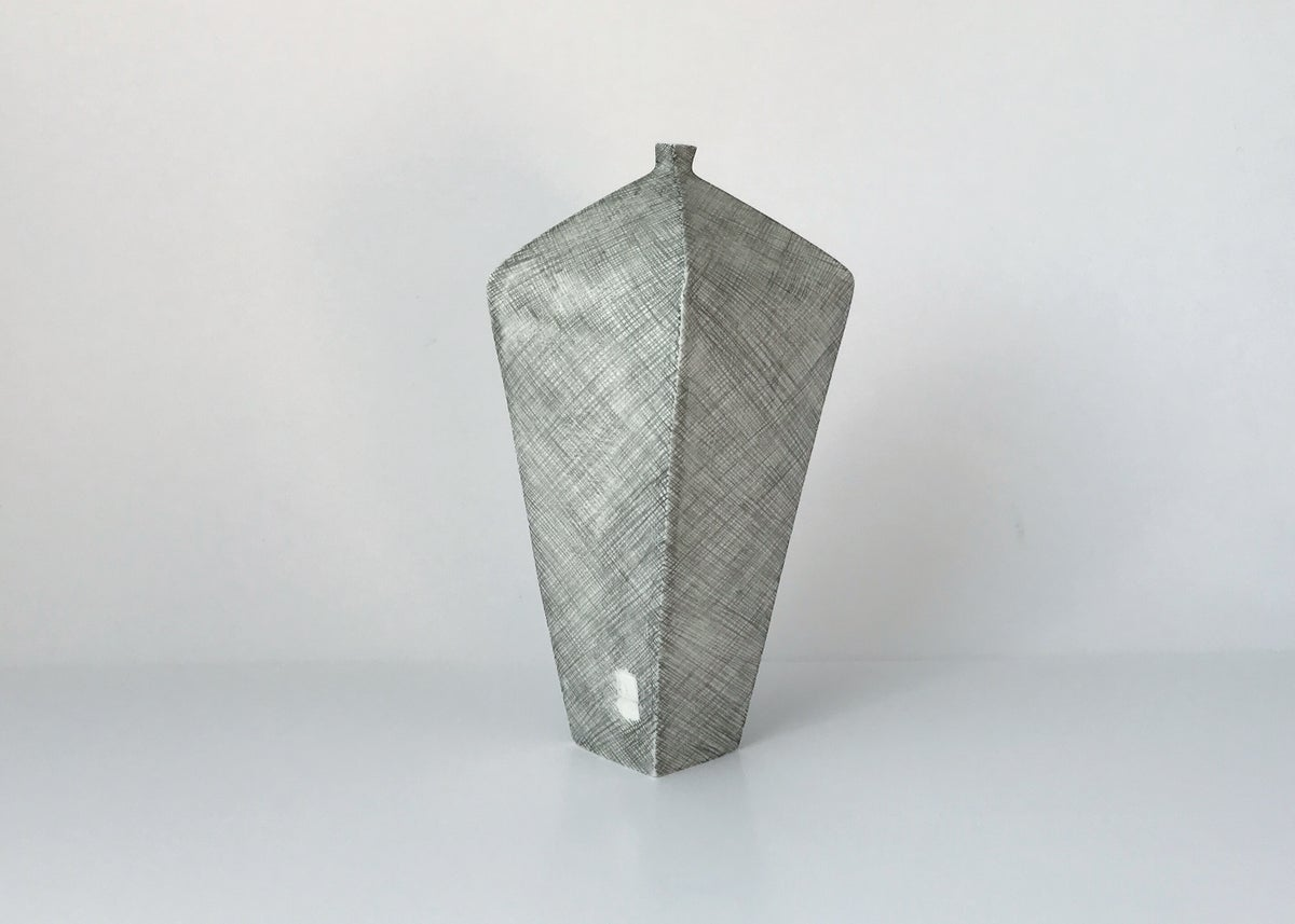 Tapered Drawn vessel 16cm