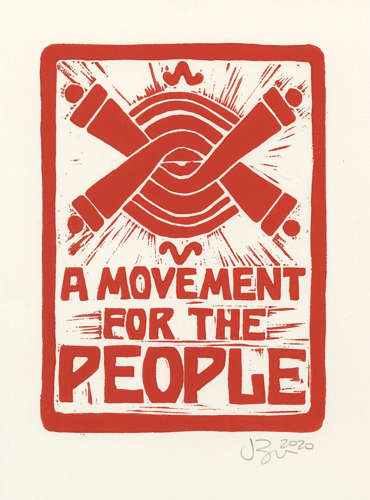 Image of A Movement for the People (Lino, 2020)