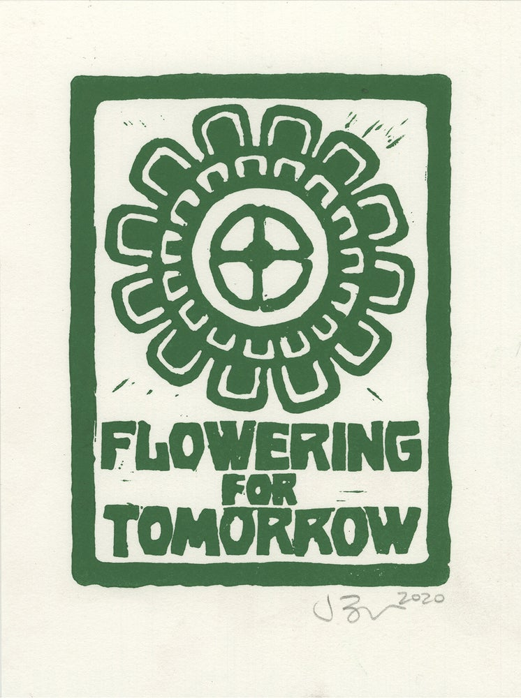 Image of Flowering for Tomorrow (Lino, 2020)