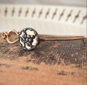 "Image of ""September"" Vintage Button Bracelet"