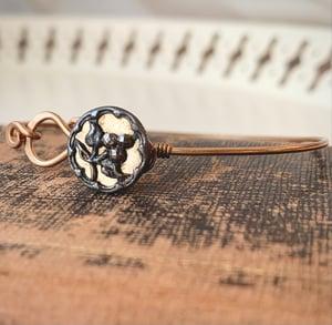 """Image of """"September"""" Vintage Button Bracelet"""